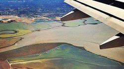 Les plus belles photos prises depuis un hublot d'avion