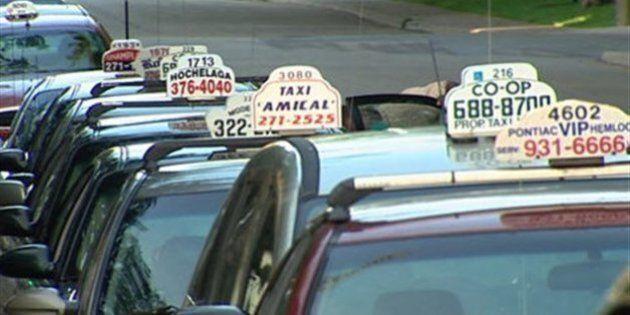 Industrie du taxi à Montréal: près de 650 plaintes par
