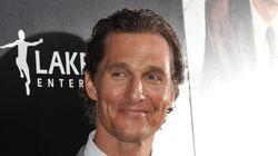 Joyeux anniversaire Matthew McConaughey!