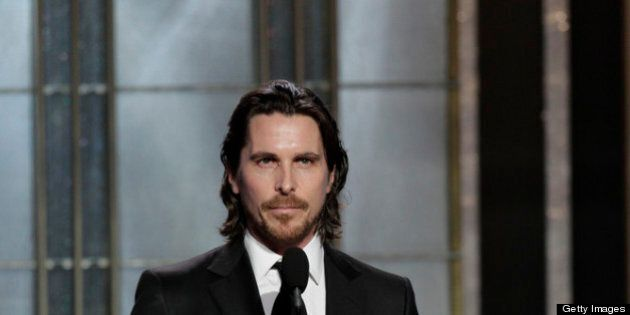 BEVERLY HILLS, CA - JANUARY 13: In this handout photo provided by NBCUniversal, Actor Christian Bale...