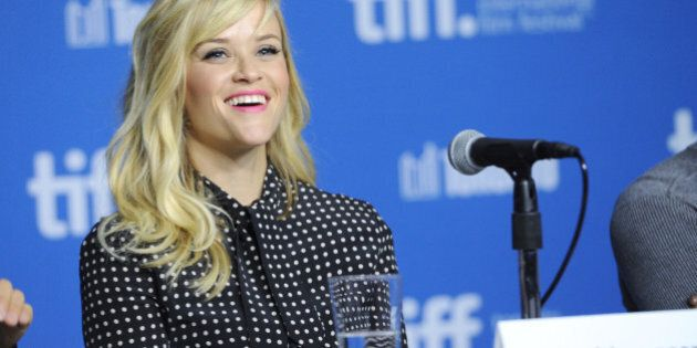 Reese Witherspoon attends the press conference