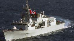 Une frégate canadienne narguée par des avions russes sur la mer