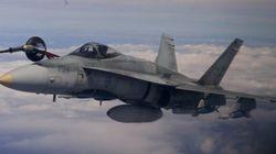 Première mission pour les aviateurs canadiens en