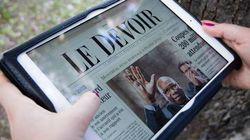 Le Devoir lancera son application tablette