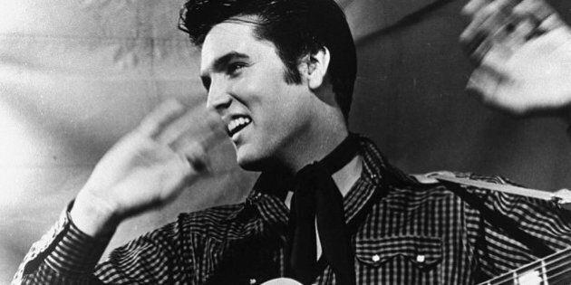 Popular American entertainment icon Elvis Presley. Source:
