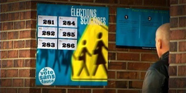 Élections scolaires: un taux de participation qui frôle