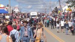 Le Festival western de Saint-Tite est toujours aussi populaire