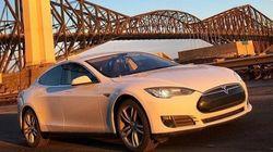 Premier taxi Tesla à Québec: un an après, qu'est-ce que ça donne?