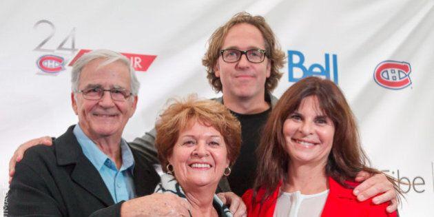 Tapis bleu du Canadien: les célébrités viennent soutenir leur équipe fétiche