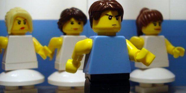Scènes cultes de films reproduites en Lego
