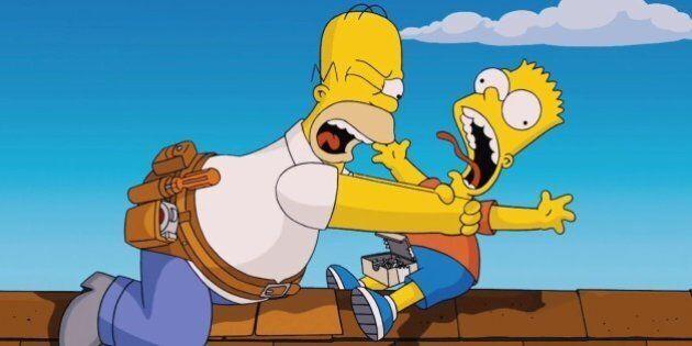 La mort d'un personnage des «Simpson» choque