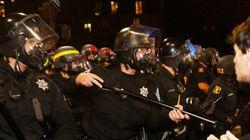 Mort violente de jeunes Noirs: manifestation mouvementée en Californie