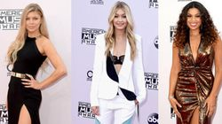 Le tapis rouge glamour des American Music Awards