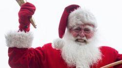 Le père Noël à Montréal