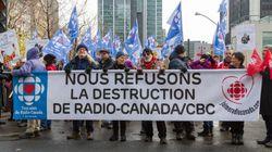 Manifestation pour la survie de Radio-Canada: Hubert Lacroix n'y voit qu'une manifestation