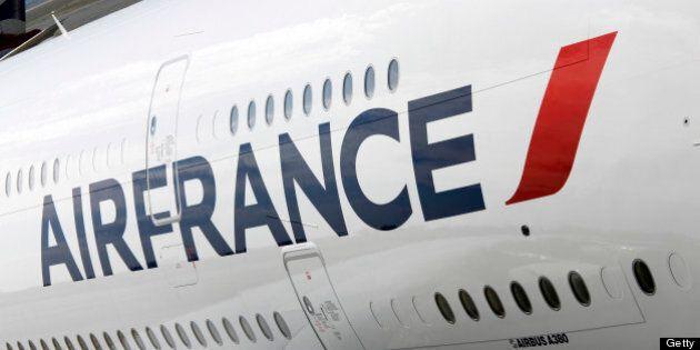 La moitié des avions d'Air France cloués au sol par une