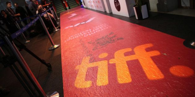 TORONTO, ON - SEPTEMBER 3: The red carpet at this years TIFF gala at the TIFF Bell Lightbox Reitman Square....