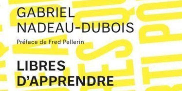 «Libres d'apprendre»: Gabriel Nadeau-Dubois discute de gratuité scolaire dans son deuxième