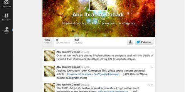 Un djihadiste canadien se félicite de la couverture médiatique qui lui est