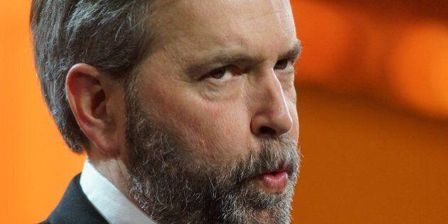 Défilé de la Fête du travail à Toronto: Mulcair attaque Harper et
