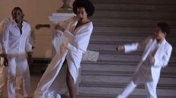 Une adorable chorégraphie de Solange Knowles avec son