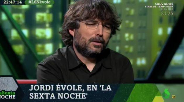 Jordi Évole en 'LaSexta