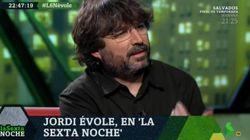 El 'palo' de Jordi Évole a un tertuliano de 'LaSexta Noche' tras esta pregunta de Iñaki