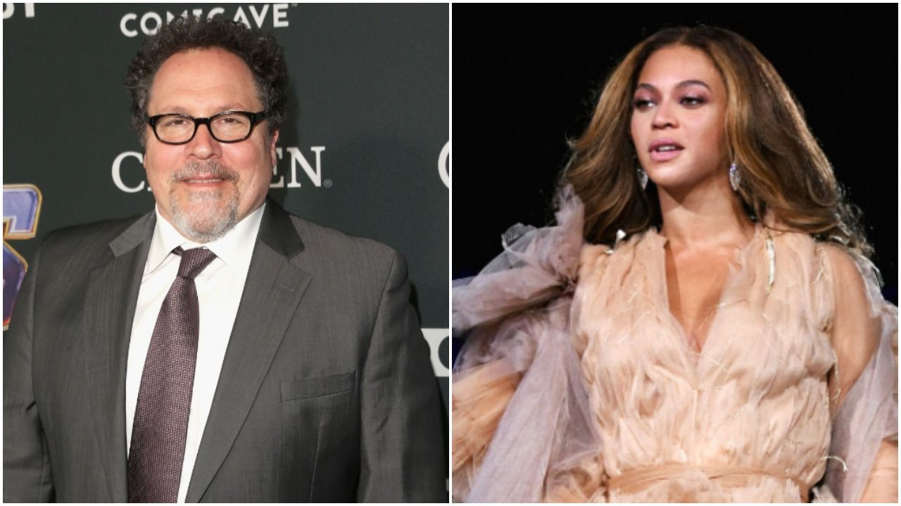 Jon Favreau, Beyoncé (Getty Images)