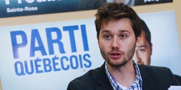 Léo Bureau-Blouin seul en lice pour la présidence de l'aile jeunesse du