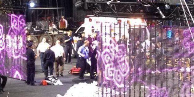 Un accident de cirque fait 11 blessés, dont 8