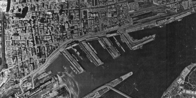 L'île de Montréal depuis les airs en 1964, 1966 et 1969