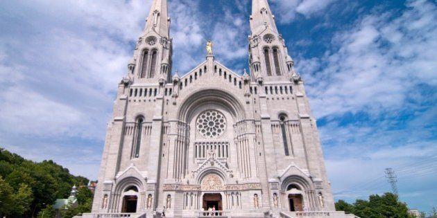 the basilica of sainte anne