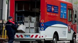 Postes Canada réalise des pertes d'exploitation de 269 millions