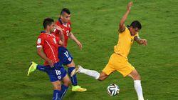 Mondial-2014 - Le Chili souffre pour battre l'Australie