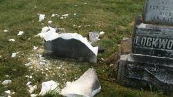 Le cimetière Maplewood de Saint-Félix-de-Kingsey a été vandalisé