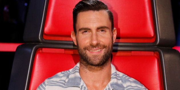 THE VOICE -- 'Live Show' Episode 618B -- Pictured: Adam Levine -- (Photo by: Trae Patton/NBC/NBCU Photo Bank via Getty Images)