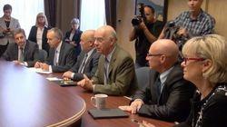 Usine Laurentide : le Groupe tactique d'intervention économique arrive à Shawinigan