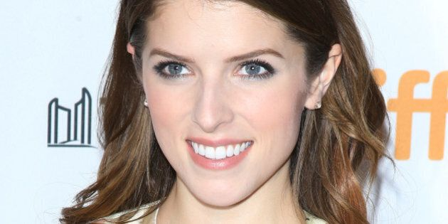 TORONTO, ON - SEPTEMBER 08: Anna Kendrick arrives at the premiere of Cake held during the 2014 Toronto...