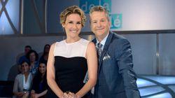 «Les enfants de la télé» à Radio-Canada: André Robitaille et Édith Cochrane prennent le