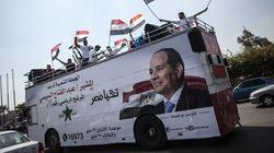 Présidentielle en Égypte, le nouvel homme fort Sissi donné