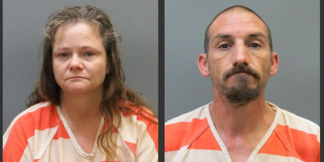 Kendra Tooley, left, and her boyfriend, Ricky Roy House Jr., are shown in undated photos provided by...