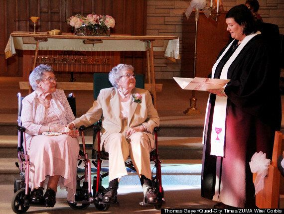 Deux femmes se marient en Iowa après 72 ans de vie