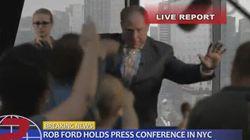 Rob Ford se fait manger par un requin en pleine conférence de presse