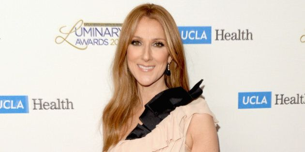 BEVERLY HILLS, CA - JANUARY 22: Musician Celine Dion attends the UCLA Head and Neck Surgery Luminary...