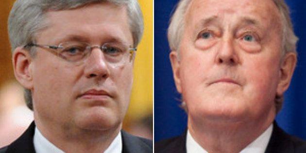 Stephen Harper répond aux critiques de l'ancien premier ministre Brian