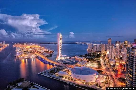 SkyRise, la nouvelle tour à sensations fortes de Miami