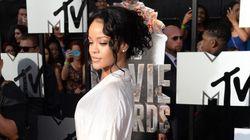 Rihanna quasi nue