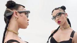 FKA twigs met à l'honneur les Google Glass dans une nouvelle