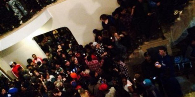 La police de Brampton disperse une fête de maison de 1500