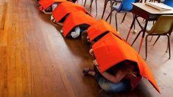 Une couverture pour sauver les enfants lors d'une fusillade
